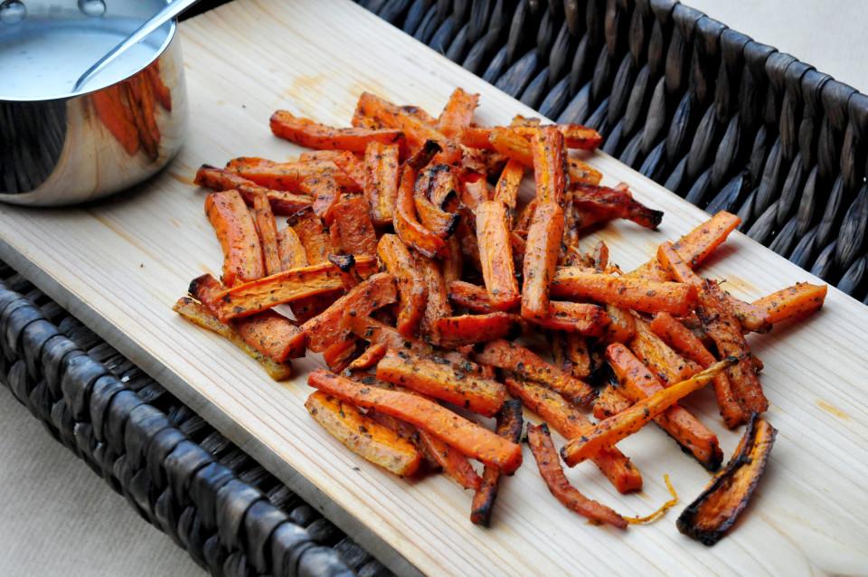Frytki z marchewki na odchudzanie
