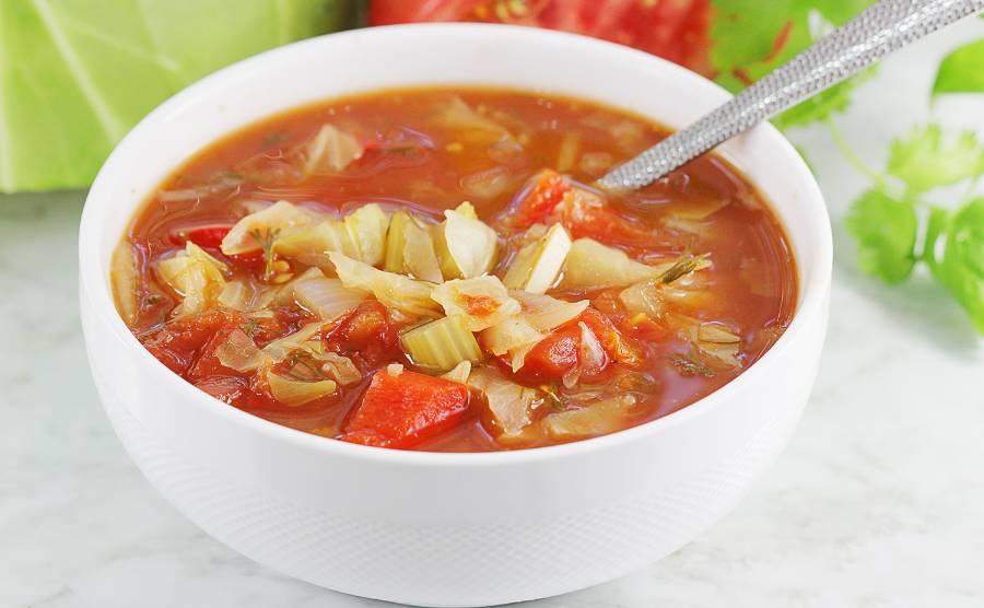 Zupa na odchudzanie - zupa kapuściana