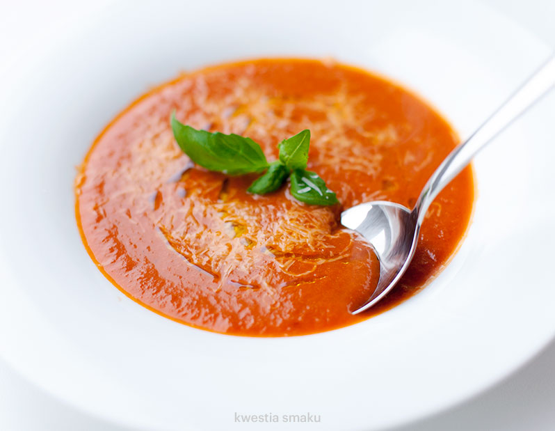 Zupa krem pomidorowy - dieta zupowa