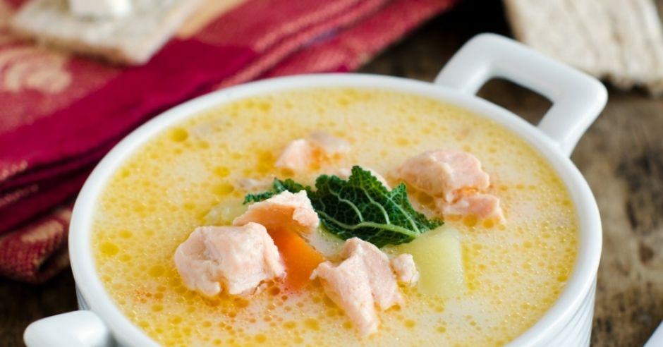 Zupa krem rybna - zupa na odchudzanie