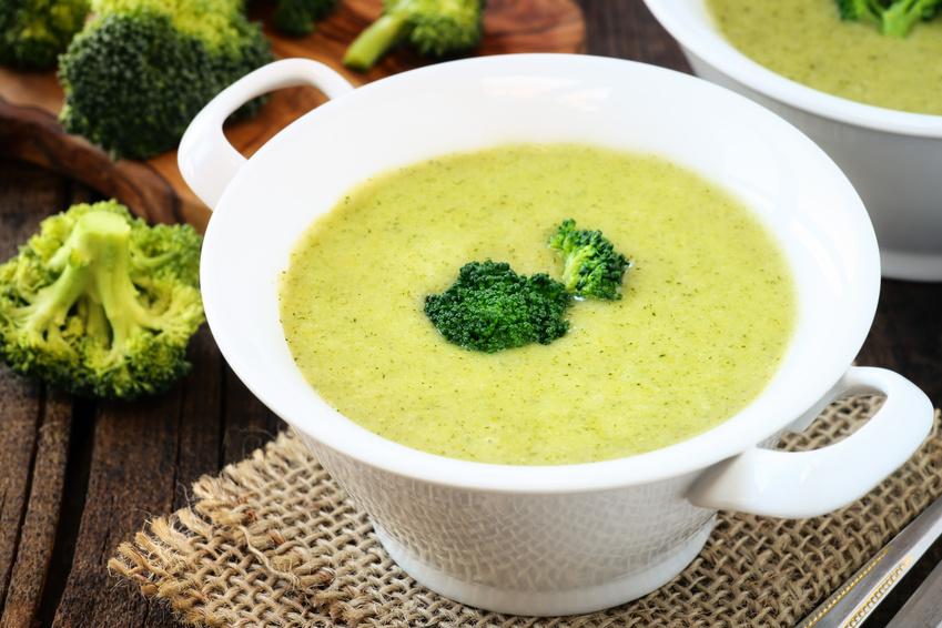 Zupa krem z brokułów - zupa na odchudzanie