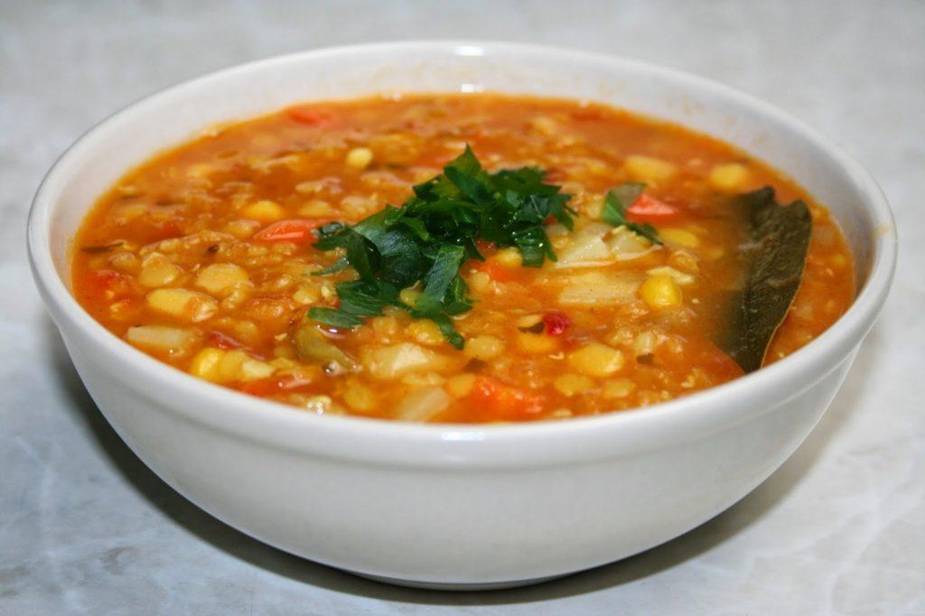 Zupa z soczewicy - zupa na odchudzanie