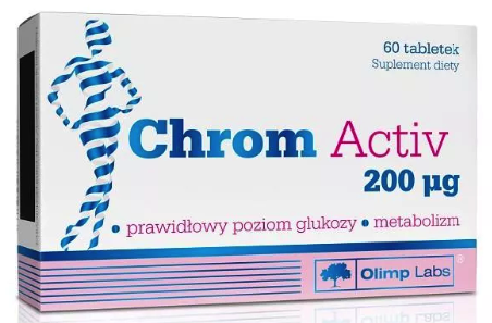 OLIMP CHROM ACTIV 60 TABLETEK
