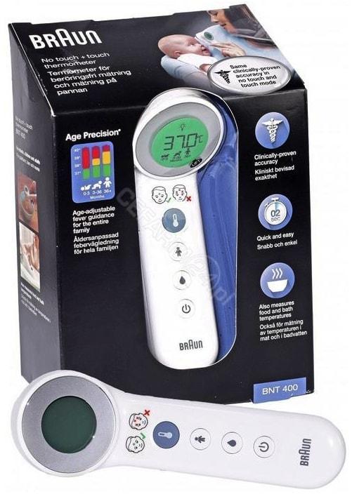 najlepszy termometr bezdotykowy